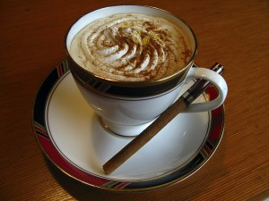 kop koffie drinken